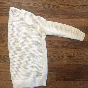 Jcrew White Sweater